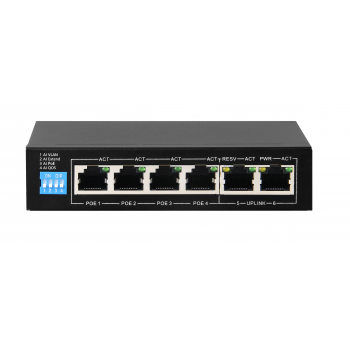 POEAI104 4+2-port POE Switch